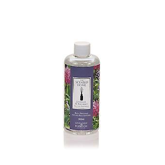 Ashleigh & Burwood Scented Home Reed Diffuser Refill Bottle 300ml Home Fragrance Lavender & Bergamot
