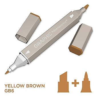 Grafik av Spectrum Noir Singelpennor-Yellow Brown