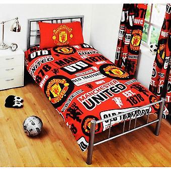Manchester United FC Patch Duvet Set