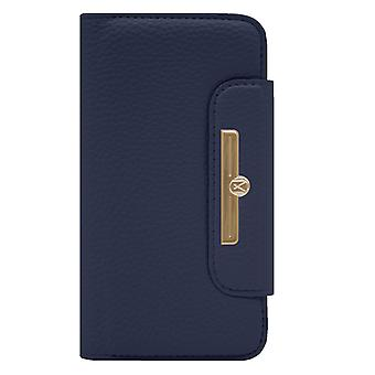Marvêlle iPhone Xs Max Magnetic Case & Wallet Blue Chic
