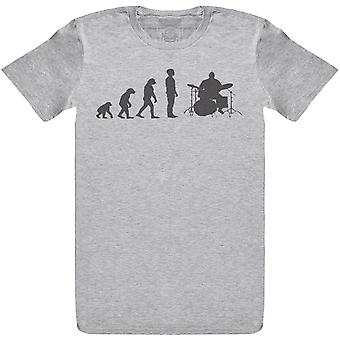 Evolution To A Drummer - Mens T-Shirt