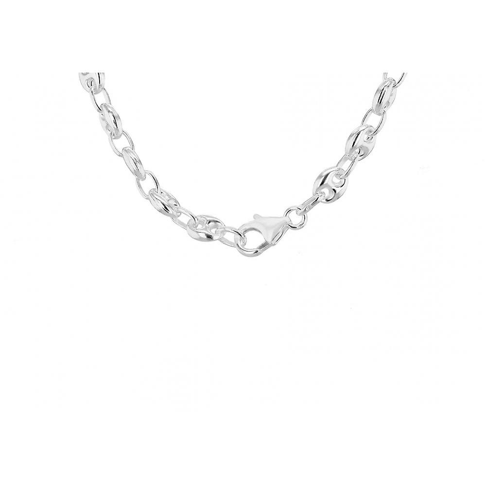 Eternity Sterling Silver Ladies 18'' Heavy Gucci Style Chain