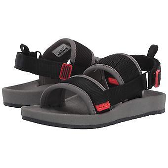 carter's Boy's Tango Mesh Sandal with Double Adjustable Straps, Black, 12 M U...