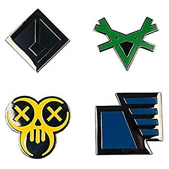 Pin Set - The Division - Factions Icon Logo 4-pack j10064