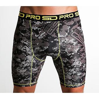 SD Pro Range compressie shorts-Carbon Digi-cam