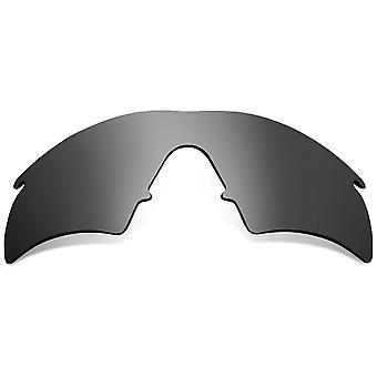 Replacement Lenses for Oakley M Frame Hybrid Sunglasses Silver Anti-Scratch Anti-Glare UV400 by SeekOptics