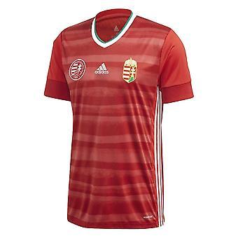 2020-2021 Ungarn Home Adidas Fußball Shirt