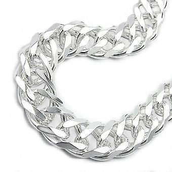Réservoir double bracelet 11mm argent 925