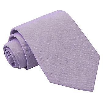 Lila Chambray-Baumwolle klassische Krawatte