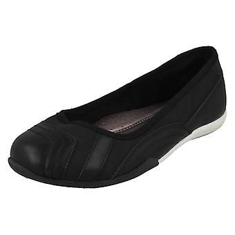 Girls Cool For School Flat Ballerinas H2567