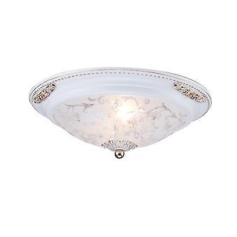 Maytoni Lighting Diametrik Wall & Ceiling Ceiling Lamp, White Gold