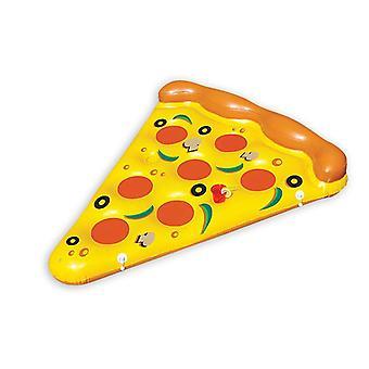 Pizza natación isla pizza pieza multicolor, impreso, hecho de PVC, para inflar.