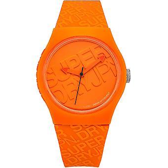 Superdry Urban SYG169O - watch Sillicone mixed Orange