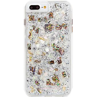 Case-Mate Karat Pearl Case for iPhone 8 Plus, 7 Plus, 6 Plus - Mother of Pearl/Clear