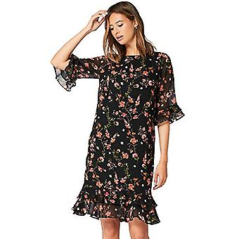 TRUTH & FABLE Women's CBTF019, Blue (Black/Pink Floral) XXL (US 16)