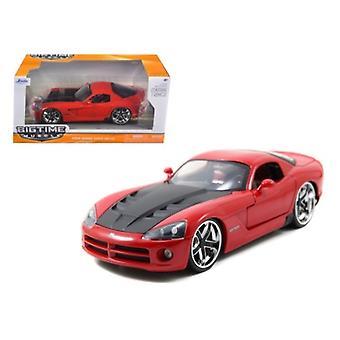 2008 Dodge Viper Srt10 Red 1/24 Diecast Modelo de Jada