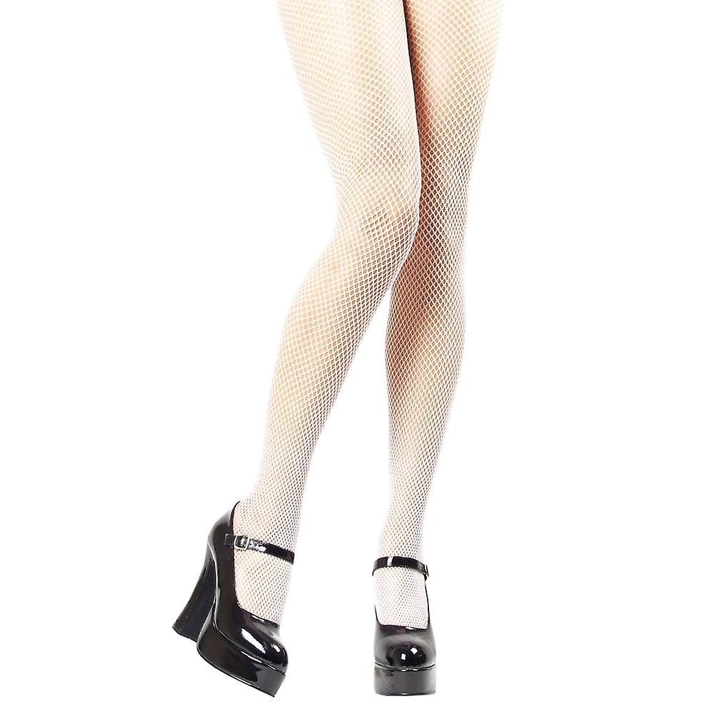 Wicked Costumes White Fishnet Tights