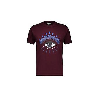Kenzo Classic Eye Burgundy T-shirt