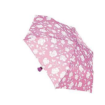 KS Brands Ladies Rose Handle SuperMini Umbrella