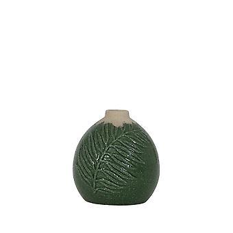 Lys & Levende Vase Deco 13x13cm Polos Mørk Grønn