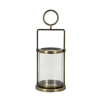 Light & Living Lantern 14x35cm - Chira Antique Bronze