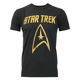 Junk Food Star Trek Logo Men-apos;s T-Shirt