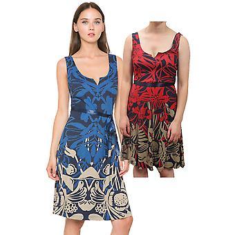 Desigual vrouwen ' s jasmijn zandloper uitlopende Jersey jurk