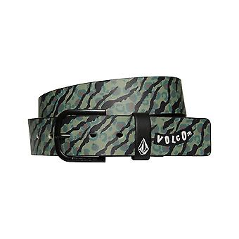 Volcom Empty PU Faux Leather Belt in Camoflage