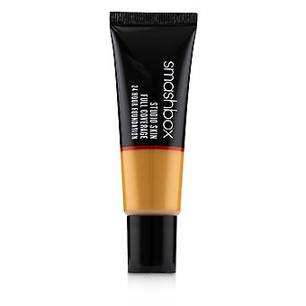 Studio skin full coverage 24 hour foundation # 4 medium dark with warm peach undertone 243747 30ml/1oz