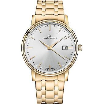 Claude Bernard - Wristwatch - Unisex - Classic Gents - 53007 37JM AID