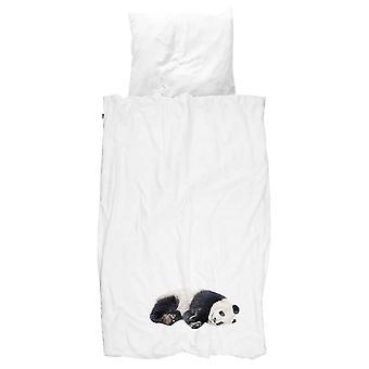 Snurk Pościel Lazy Panda 135 x 200 cm 100% Bawełna organiczna