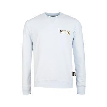 Versace Jeans Couture Cotton White Sweatshirt