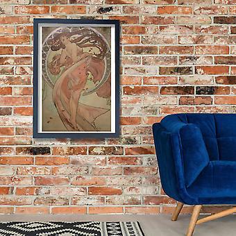 Alphonse Mucha - Praga Praha 4 Poster impressão giclée
