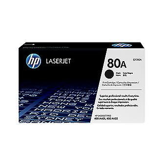 Hp 80A Black Toner 2700 Page Yield For M401