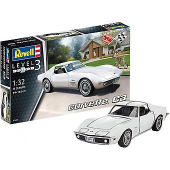 Revelle Corvette C3 1:32 Kit modèle 07684