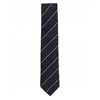 BOSS tónové pruhované kravatu