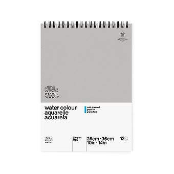 Winsor & Newton Classic Water Colour Pad CP 300gsm 26 x 36cm (Spiral)