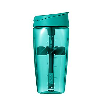 TRIMR Tritan Protein Shaker Water Bottle 700ml in Blue/Green