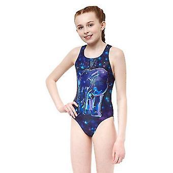 Kostium kąpielowy dla dzieci Ypsilanti Nellie Rave Blue Purple/14-16 lat (UE) - 32 (Wielka Brytania)