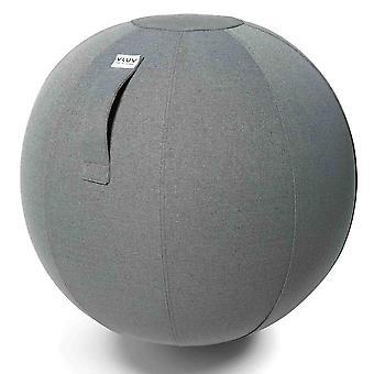 Vluv sova tecido assento bola diâmetro 60-65 cm cinza