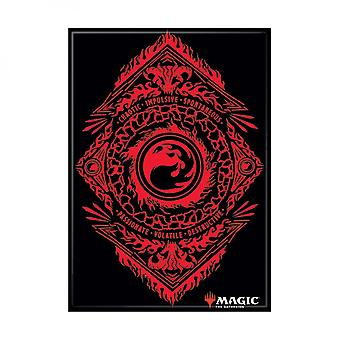 Magic the Gathering Red Mana Symbol Card Magnet