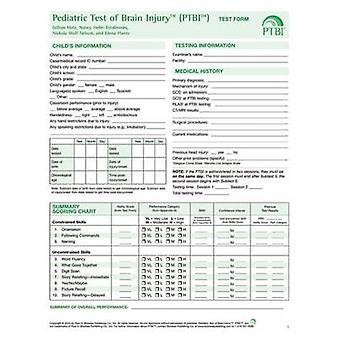 Pediatric Test of Brain Injury  (PTBI) - Test Forms by Gillian Hotz -