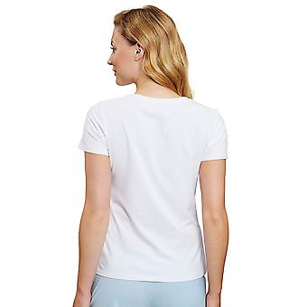 Rösch 1202066-11710 Women's Be Happy White Pyjama Top