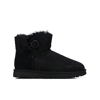 Ugg Ezcr013010 Women's Black Suede Ankle Boots