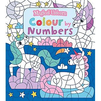 Magical Unicorn Colour by Numbers by Claire Stamper - 9781789501544 B