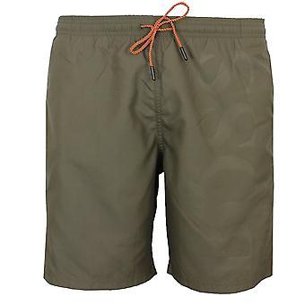 Hugo boss orca men's khaki swim shorts