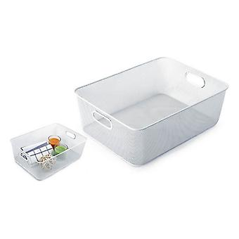 Multi-Purpose Organiser Confortime Metal White (37 X 27 x 13 cm)