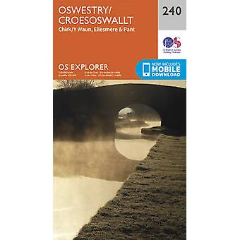 Oswestry / Croesoswallt (September 2015 ed) by Ordnance Survey - 9780