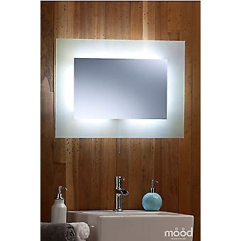 Bathroom Mirror 50 x 70cm with LED lights