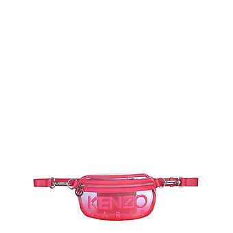 Kenzo Fa52sa407f0227 Kvinder's Rød polyurethan pose